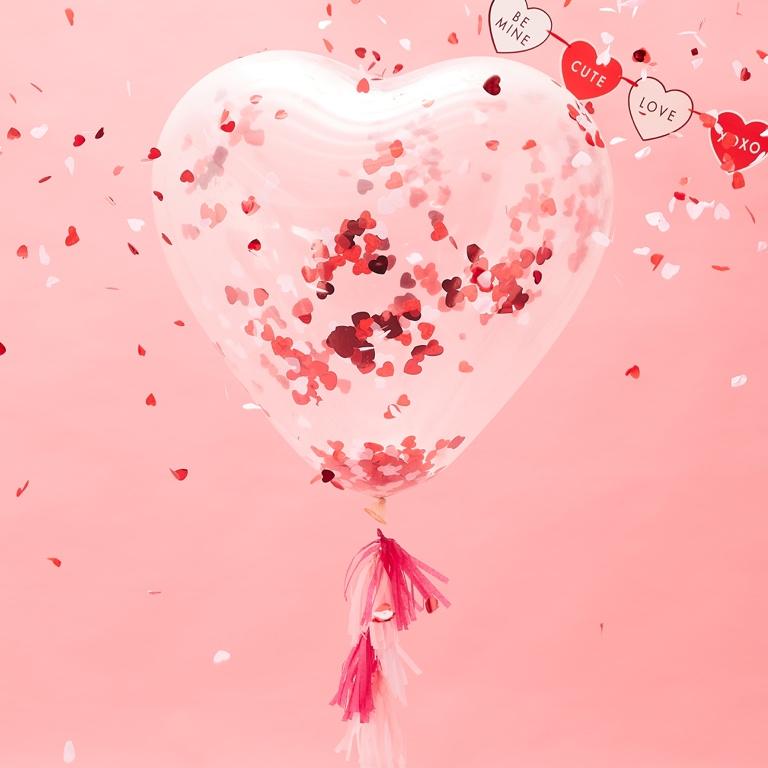 Ako správne nafúkať balóny s konfetami?